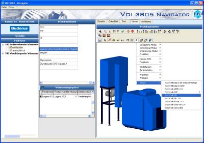 ETU VDI 3805 Navigator IFC Export - IfcWiki